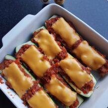 Recept: Courgette met tonijn en cheddar kaas