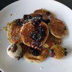 Recept: American pancakes met blauwe bessen