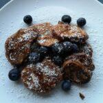 foto van pancakes voor voorpagina