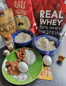 ingrediënten van pancakes foto