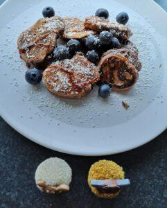 foto waar de pancakes klaar zijn