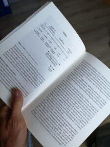 foto van de inhoud van het boek