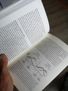Foto van inhoud boek