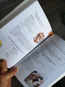 Foto van recepten uit het boek