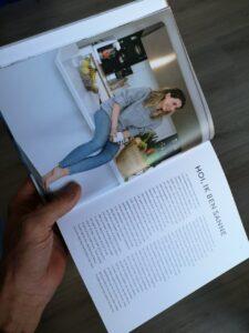 foto van sanne, schrijfster uit het boek