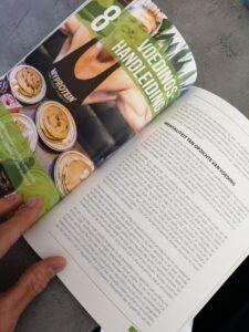 Op deze foto zie je een Afbeelding over de voedingshandleiding uit het boek Shredded Lifestyle