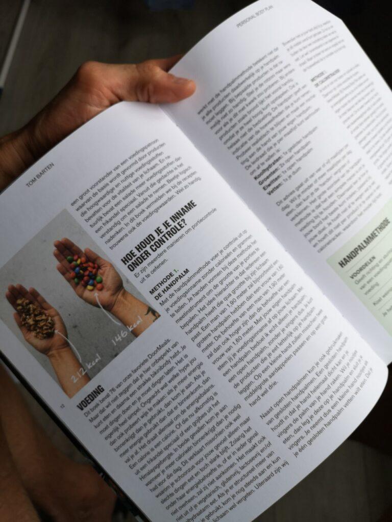 foto van de 4 pijlers van het boek van the recipe guide