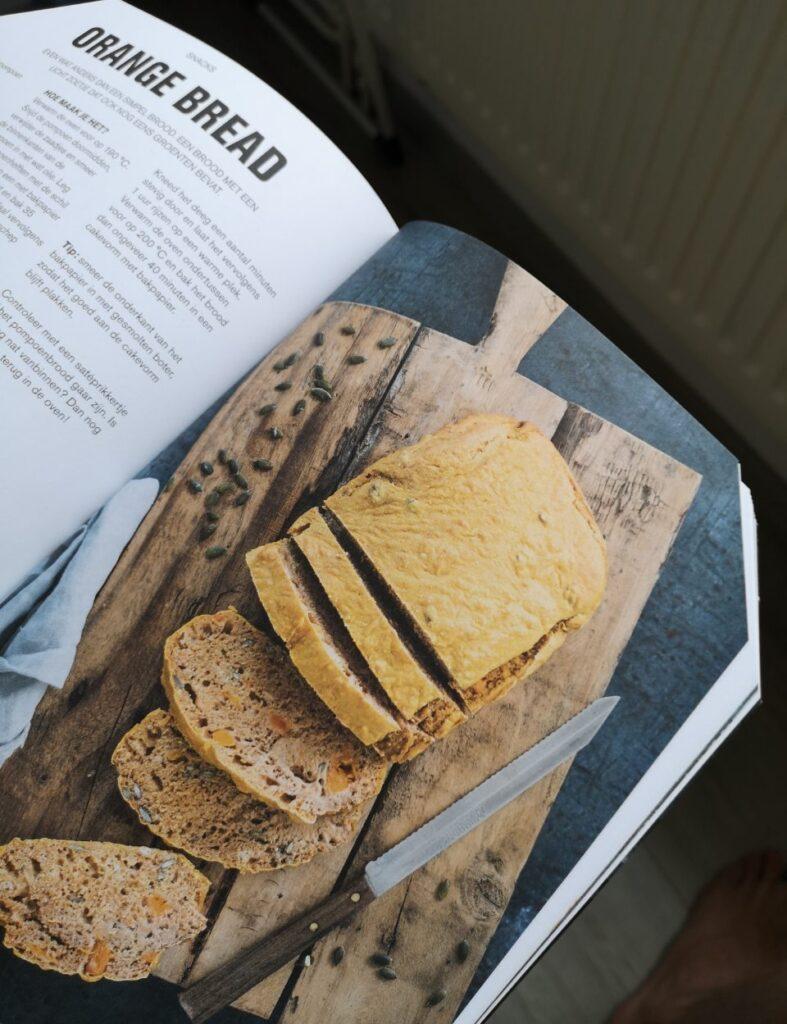 een foto van een snack van het boek the recipe guide