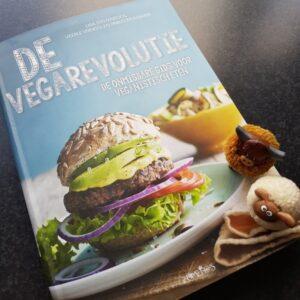 Op deze afbeelding zie je de bovenkant van het boek de vegarevolutie