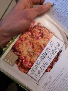 Op deze foto zie je pannenkoek uit het boek afslank receptenbijbel