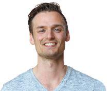 Op deze foto zie je Derek Westra,, 1 van de Crypto Masterclass  oprichters