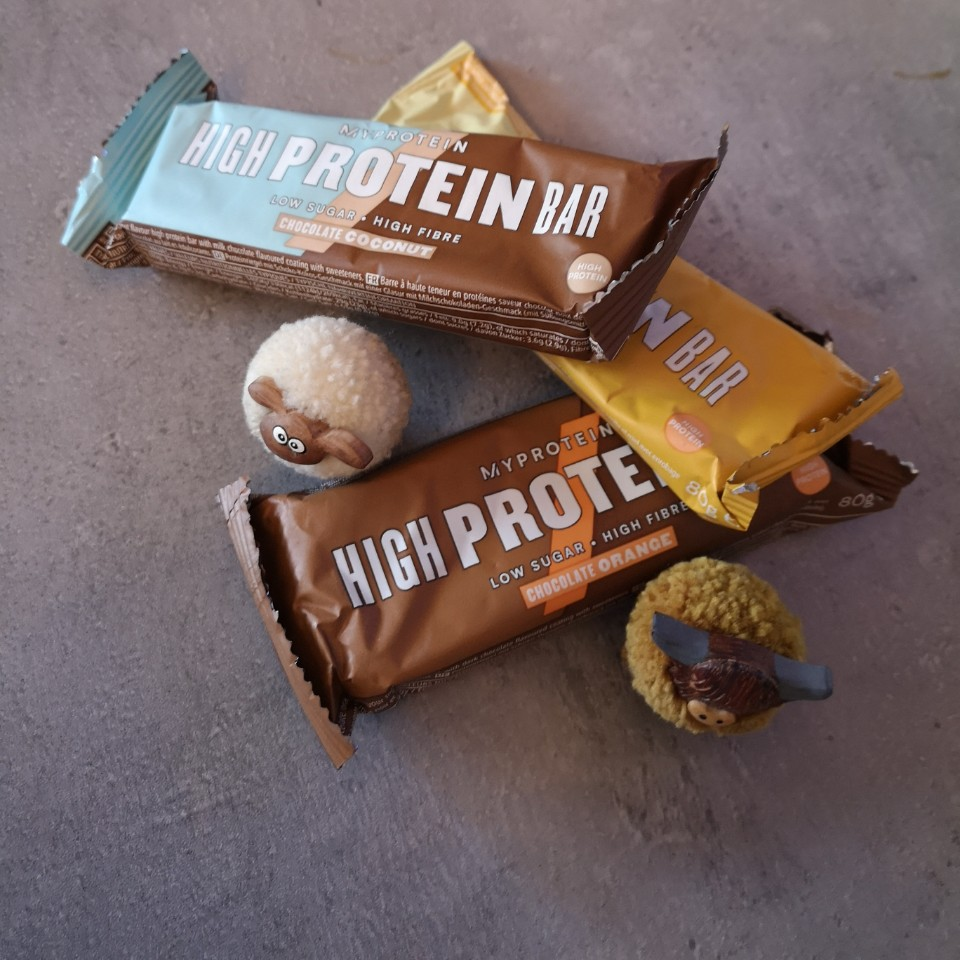 Review: High Protein Bar van Myprotein
