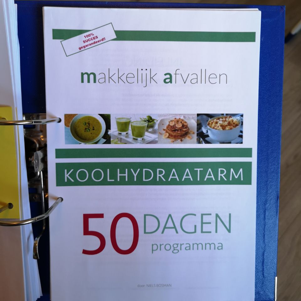 Review: Koolhydraatarm 50 dagen programma