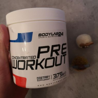 Review: Concentrated Pre Workout van Bodylab