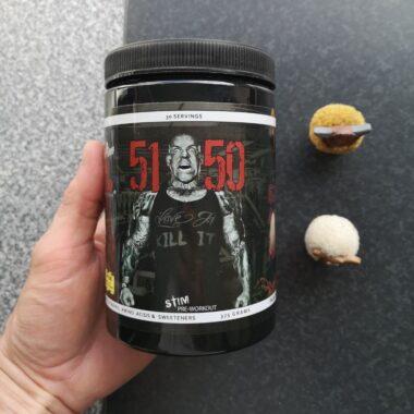 Review: 5150 pre-workout van Rich Piana 5% Nutrition