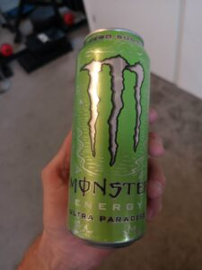 Op deze foto de smaak Paradise van Monster Energy Ultra