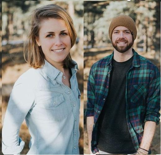 Op deze foto zie je Rolf en Melanie, bedenkers van de Mindfulness voor het Dagelijkse leven cursus