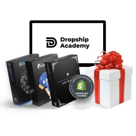 Op deze foto zie je de cursus Dropship Academy van Joshua Kaats