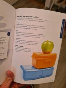 Op deze foto zie je handige tips uit het boek fitchef family