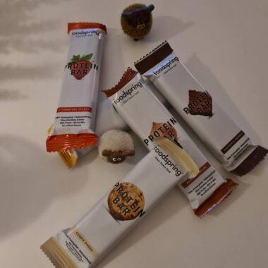 Protein Bars Review van Foodspring – 6 Gezonde smaken!