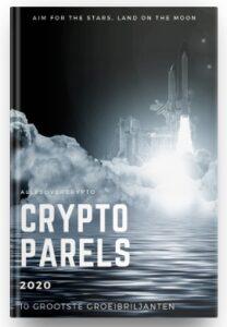 Op deze foto zie je de crypto portfolio als bonus van de crypto masterclass