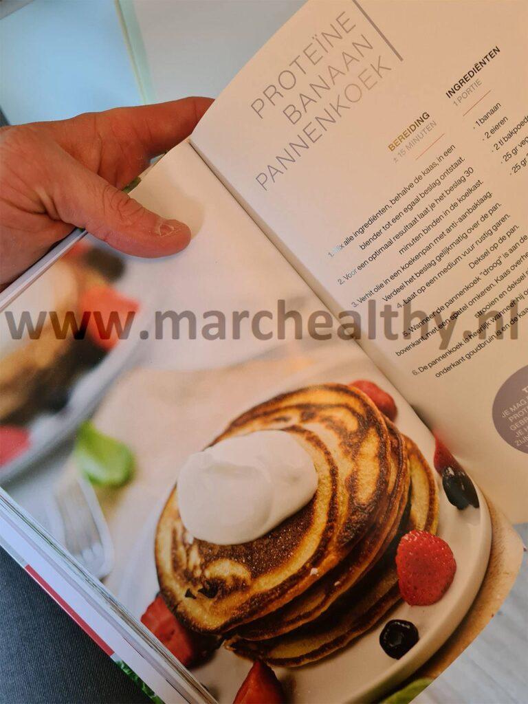 Op deze foto zie je een recept uit het Koolhydraatarm 50 Dagen Programma