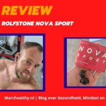 Rolfstone Nova Sport Review – Mijn ervaringen (2021)